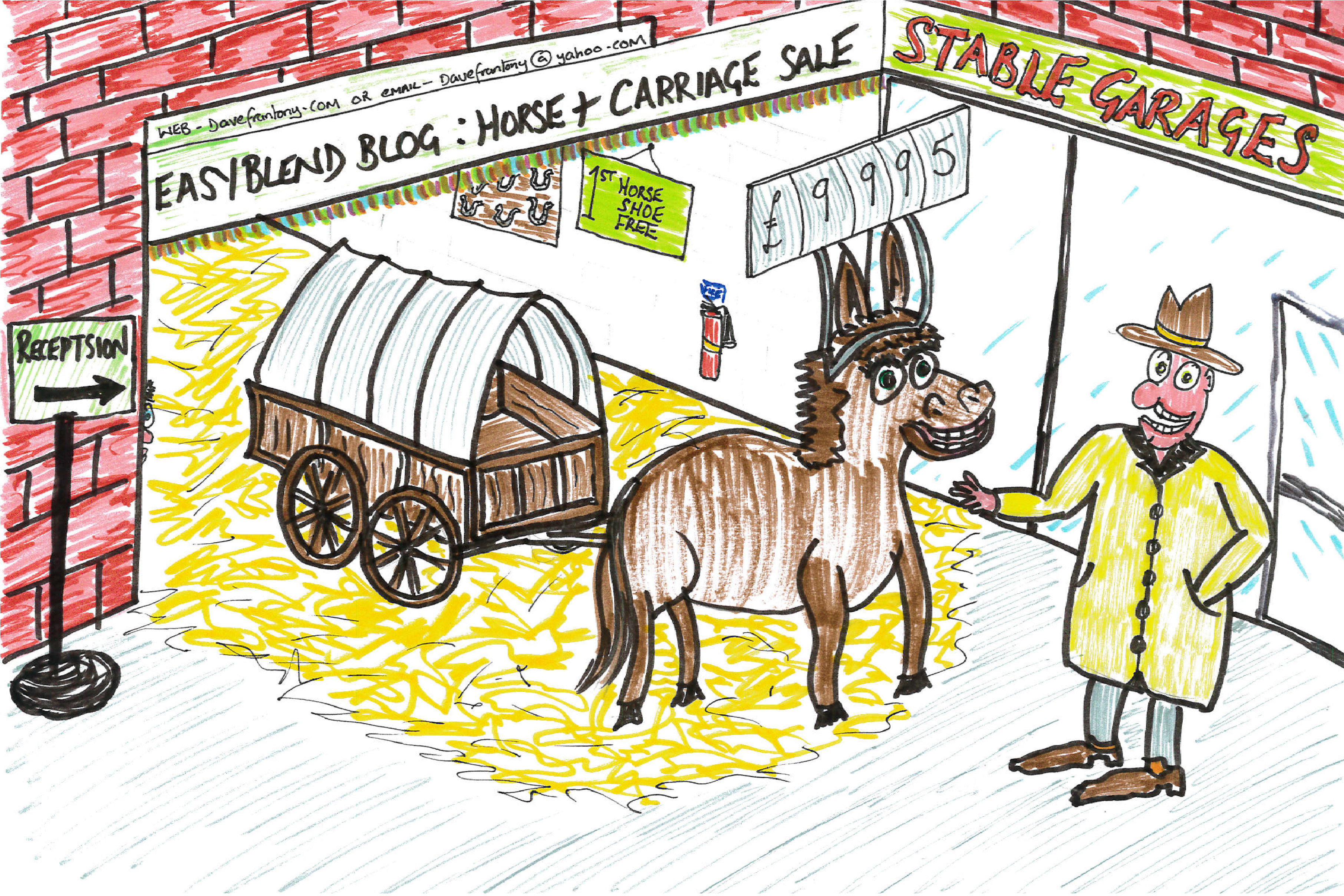 horse-cart-stable
